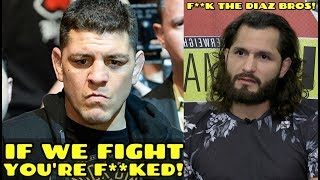 Nick Diaz GOES OFF on Jorge Masvidal: If we fight you're F**ked, Masvidal fires back at Diaz Bros