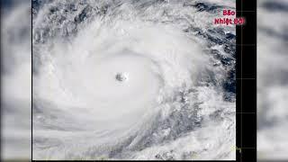 Ảnh Mây Vệ Tinh Siêu Bão MAngkhut (Super typhoon Mangkhut satellite animation)