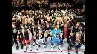 My 2 Favorite Custom WWE Figure Collections!!