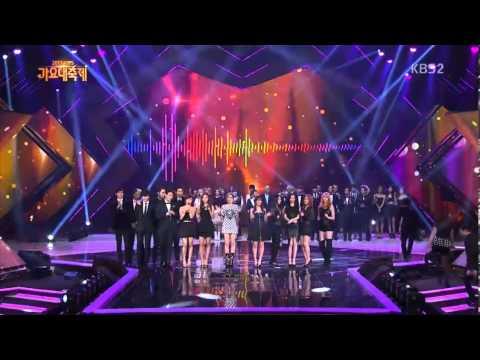 [HD]131227 KBS Song Festival All Artists -  Bounce