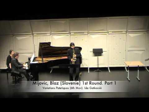 Mijovic, Blaz (Slovenie) 1st Round. Part 1