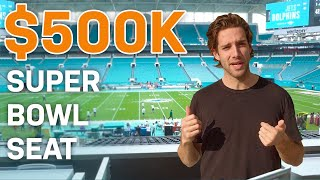 What a $500K Seat Gets You at the Super Bowl | All Access | GQ Sports