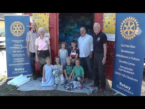 Rotarier Pulheim: Deckel drauf
