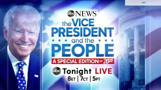 ABC News: 'The Vice President and the People' town hall promo