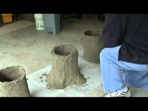 Concrete Bench Molds