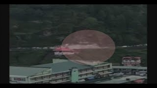 On Cam: Horrific landslide on Chandigarh-Shimla National H..
