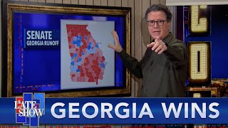 After A Rocky Week, Stephen Finally Gets To Celebrate The Georgia Senate Wins By Warnock And Ossoff