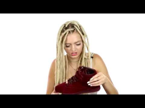 Amber Rose Reebok Freestyle Hi Sneaker Unboxing by Woah Vicky