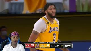 FlightReacts Trail Blazers vs Lakers - Full Game 2 Highlights   August 20, 2020 NBA Playoffs