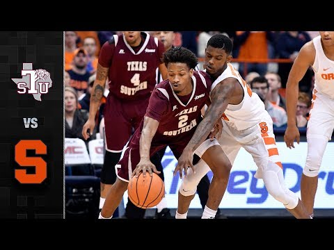 Texas Southern vs. Syracuse Basketball Highlights (2017)