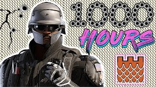 What 1000 HOURS of CASTLE Experience Looks Like - Rainbow Six Siege