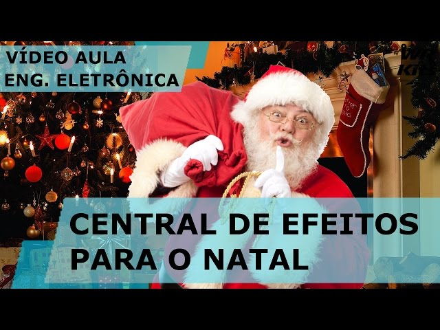 CENTRAL DE EFEITOS PARA O NATAL (SOFTWARE) | Vídeo Aula #146