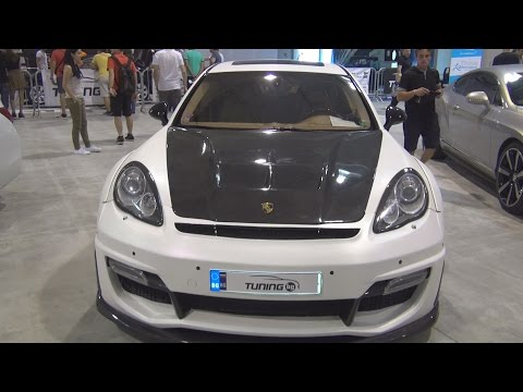 Porsche Panamera Turbo Tuned (2010) Exterior and Interior in 3D