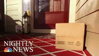 How One Police Department Is Combatting The Growing Number Of Porch Pirates   NBC Nightly News