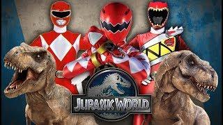 Power Rangers vs Jurassic World