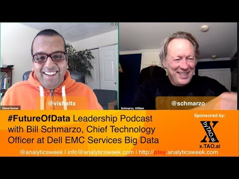 @Schmarzo @DellEMC on Ingredients of healthy #DataScience practice #FutureOfData #Podcast