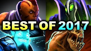 BEST OF 2017 - MOST EPIC HYPE MOMENTS DOTA 2