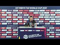 David Wiese speaks after Namibias 1st T20 World Cup Victory