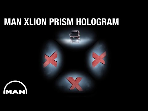MAN | XLION Prism Hologram
