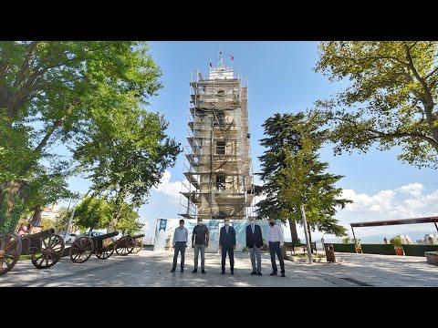 Tarihi Saat Kulesi orjinal haline kavuşuyor