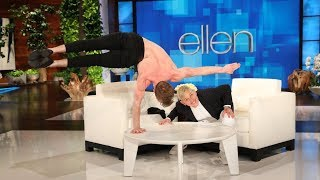 Acrobat Jon Stranks Is Really Strong and Really Shirtless