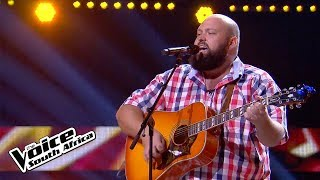 Rob Edeling – 'Ring of Fire'   Blind Audition   The Voice SA: Season 3   M-Net
