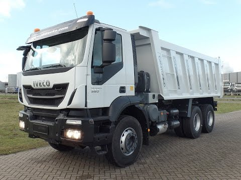 iv3874 Iveco AD380T38H with Cantoni rear tipper - NEW
