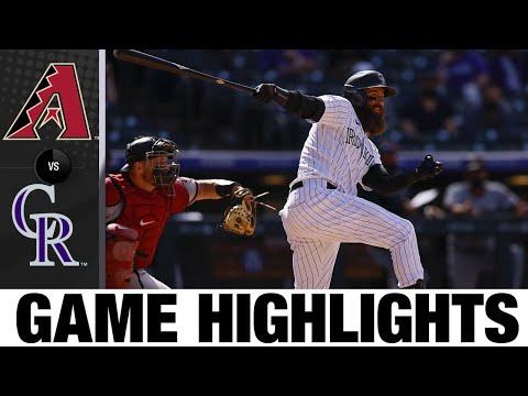 D-backs vs. Rockies Game Highlights (4/8/21) | MLB Highlights