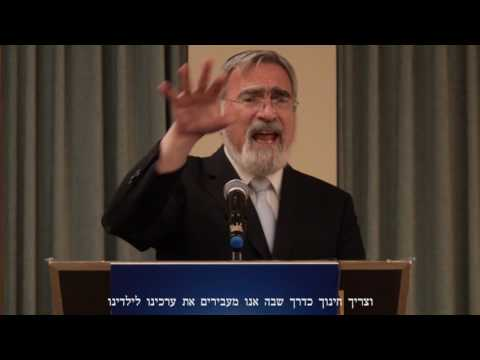 Greetings by Rabbi Sacks