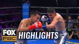 Leo Santa Cruz defeats Rafael Rivera in convincing fashion | HIGHLIGHTS | PBC ON FOX