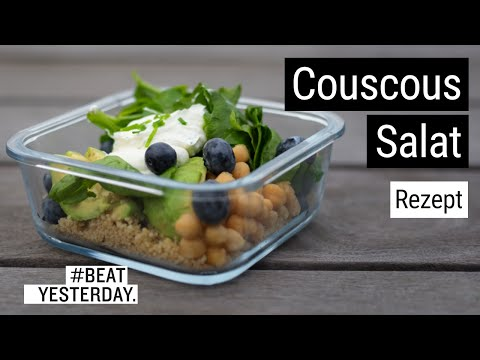 #BeatYesterday-Rezept: Couscous-Spinat-Salat