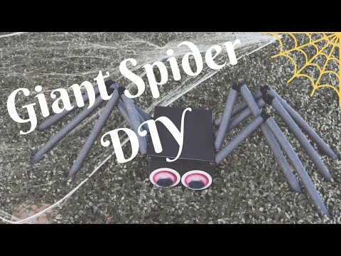 Giant Spider DIY