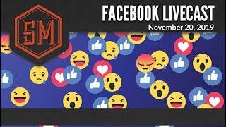 Facebook Live: November 20, 2019