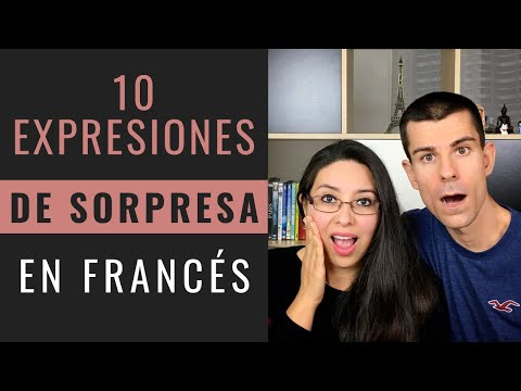 10 EXPRESIONES DE SORPRESA EN FRANCÉS 😮