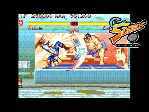 """[BIS] SUPER STREET FIGHTER 2: THE NEW CHALLENGERS (GUILE) - """"CON 5 DUROS"""" Episodio 120 (1cc) (CTR)"""