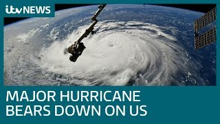 Residents flee as Hurricane Florence approaches US coast | ITV News