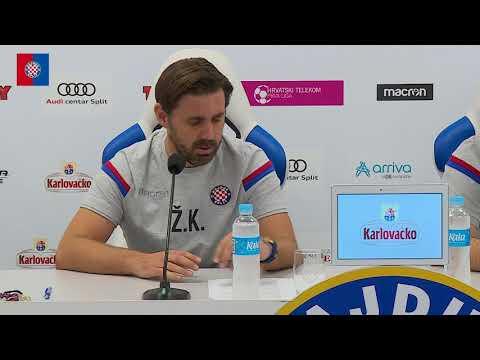 Trener Kopić uoči utakmice Hajduk - Gorica