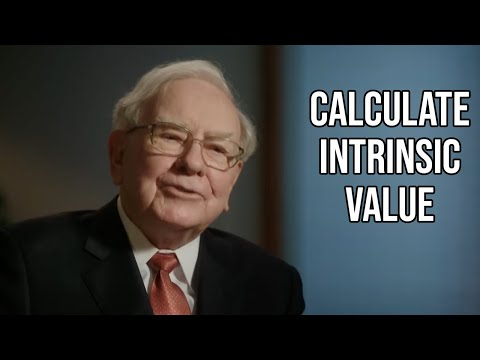 How To Calculate Intrinsic Value (Full Example) – Cooper Academy