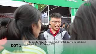 Những điểm mới trong tuyển sinh đại học chính quy của ĐHQGHN năm 2019
