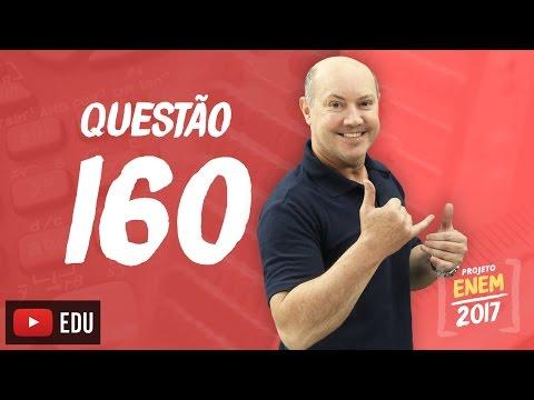 Enem 2016: Questão 160 (Caderno Rosa)