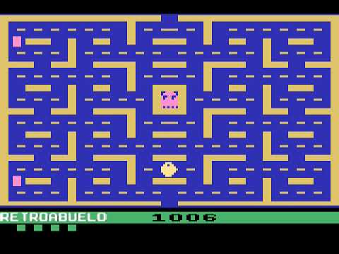 Cajón DESASTRE #09 - Pac-Man - Tod Frye/Atari - 1982 - Atari 2600