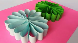 How To Make Party Flower Style With Color Paper