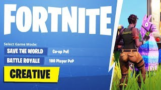Fortnite Creative Mode How To *NEW*
