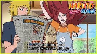 Naruto's Life if Minato and Kushina Were Alive!!! Sakura Gets Jealous Of Naruto's Life!!!