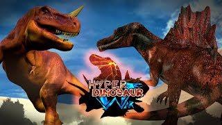 Dinosaurs Battle : HyperDinosaur  EP1