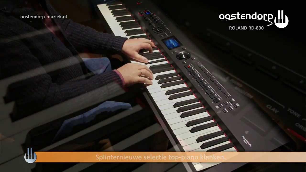 roland rd 800 sound demo digital piano youtube. Black Bedroom Furniture Sets. Home Design Ideas