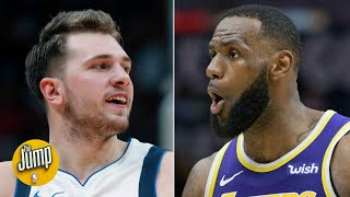 Luka Doncic is a baby LeBron James (without the athleticism) - Kendrick Perkins | The Jump