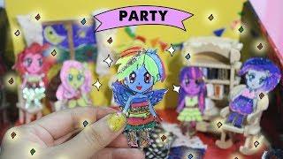 Tiệc tình bạn của Pony bé nhỏ | Pony paper doll