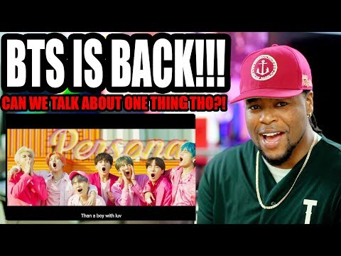 BTS - Boy With Luv feat. Halsey' Official MV | Comeback Reaction!!!