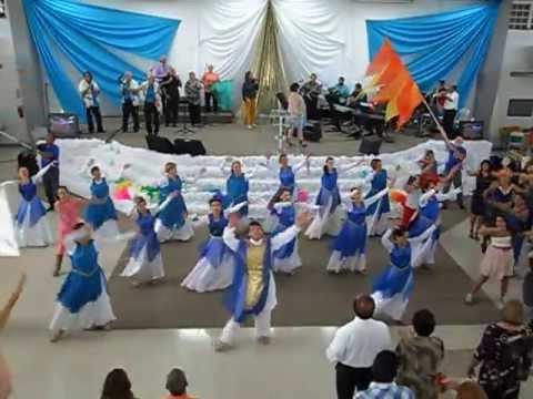 Ministerio de Danza Kaddesh - Levantate - Paul Wilbur